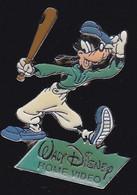 71269- Pin's. Walt Disney Home Vidéo.Dingo.Baseball.démons Et Merveilles. - Disney