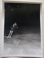 Photo De Sport. Championnats De Patinage Artistique. Figure De Patinage. Duo. Cynthia Kauffman Et Ronald Kauffman. - Deportes