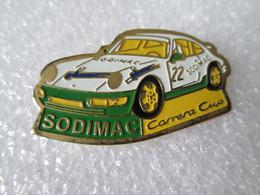 PIN'S    PORSCHE  911  CARRERA CUP   SODIMAC - Porsche