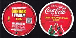 COCA COLA - 2014 Fifa World Cup Brazil / Coca Cola Portugal - Sous-verres