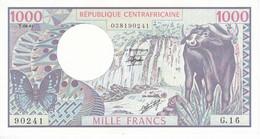 BILLETE DE REPUBLICA CENTROAFRICANA DE 1000 FRANCS DEL AÑO 1981 EN CALIDAD EBC (XF) - Central African Republic