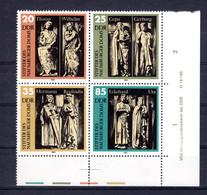 DDR  Michel # 2808 - 11 ** DV (Druckvermerk)  4-er Block - Sin Clasificación