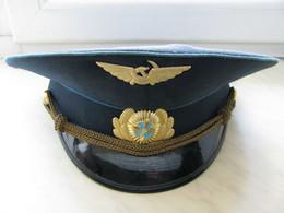 Pilot Cap Of The Pilot Of Aeroflot Of The USSR Soviet Russia - Casquettes & Bobs