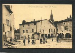 CPA - LIVERDUN - Place De La Fontaine, Bien Animé - Liverdun