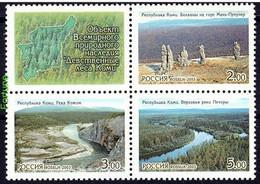 RUSSIE/RUSSIA/RUSSLAND/ROSJA 2003 MI.1096-98** ,ZAG.864-66 ,YVERT 6731-33.,the Virgin Forests Of Komi Republic, UNESC - Ungebraucht