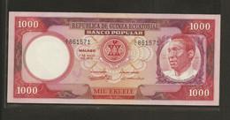 Guinée Equatoriale, 1,000 Ekuele, 1975 Second Dated Issue - Equatorial Guinea