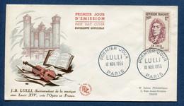 ⭐ France - Premier Jour - FDC - Lulli - 1956 ⭐ - 1950-1959