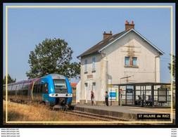 85  ST  HILAIRE  De  RIEZ ... La  Gare.. Les Quais - Saint Hilaire De Riez