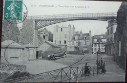50 Manche CPA Granville Tranchée Aux Anglais 1908 - 2373 - Granville