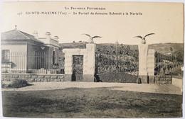 SAINTE MAXIME - Le Portail Du Domaine De La Nartelle - Sainte-Maxime