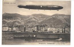 Toulon - Le Quai - Dirigeable DIXMUDE - Airships