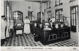 Paris Hopital Bretonneau Santé Assistance Publique La Cuisine Animation 1910 Superbe TOP - Arrondissement: 18