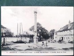 61 , Argentan , La Colonne Des Trois Croix     ..  Non Circulée - Argentan