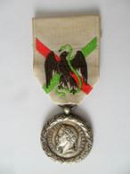 Médaille Du Mexique Modèle Du Centenaire - Voor 1871