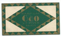 CARTE PARFUMÉE / CALENDRIER 1930 Parfum GAO ( Anglsupghe) - Vintage (until 1960)