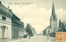 Wilrijk - Wilryck - Kerk En Bergstraat - Café 'Lokaal De Vrede' - 1913 - Antwerpen