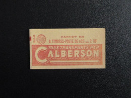 M1 - Marianne Decaris - Carnet 8 T. YT 1263-C1 - S.o5-60 TTB Avec Feuillet Cristal Protégeant Les Gommes.- Pub Calberson - Definitives