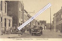"""CAPPELLEN-KAPELLEN """" HOEVENSCHE BAAN-SOLDATEN-VRACHTWAGEN""""HOELEN N°457 UITGIFTE 1939 TYPE 10 - Kapellen"""