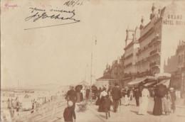 HEIST / FOTOKAART ZEEDIJK EN GRAND HOTEL 1901 - Heist