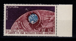 Wallis Et Futuna - YV PA 20 N** Luxe , Telecommunications Spatiales, Satellite Cote 4,30 Euros - Unused Stamps
