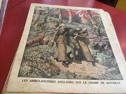 La Mode    Magazine Paris Parisienne 1914 Les Ambulanciers Anglaises Sur Le Champ De Bataille - Mode