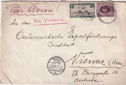 EGYPTE 1935 LETTRE DE ALEXANDRIA - Covers & Documents