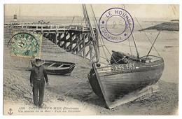Port Du HOURDEL , Env. CAYEUX-sur-MER (80)  Un Ancien De La Mer. N°438 - Le Hourdel