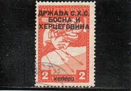 ROYAUME DES SERBES, CROATES ET SLOVENES 1919 O - Oblitérés