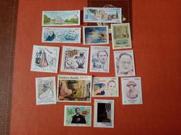 Lot De 15 Timbres Neufs Années 2017-2018 - Colecciones Completas