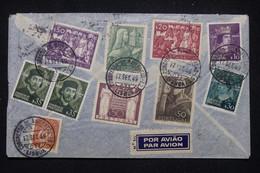 PORTUGAL - Enveloppe Du Congrès Internationale De Navigation De Lisbonne En 1949 Pour La France - L 99255 - Covers & Documents