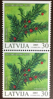 Latvia 2003 Protected Plants Flowers Booklet Stamps MNH - Ohne Zuordnung