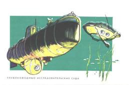 P.Pavlinov:Bathyscaphe Triest, 1972 - Submarines
