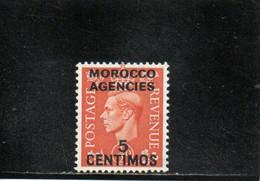 MAROC 1951-2 ** - Bureaux Au Maroc / Tanger (...-1958)