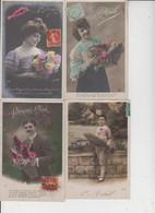 FANTAISIES  -  1ER AVRIL  -  LOT DE 20 CARTES  - - 5 - 99 Postcards