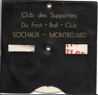FC Sochaux/Montbéliard -  Disque De Stationnement- Club Des Supporters - Other