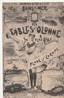 D 85 - Bains De Mer Des Sables D'olonne - La Plus Belle Plage D'europe - Chemins De Fer CPA TBE - Sables D'Olonne