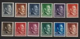 Adolf Hitler MiNr. 71-82 **  (0737) - Unused Stamps