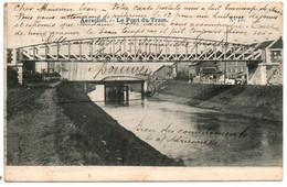Aarschot / Aerschot - Le Pont Du Tram -  Circulée: 1907 - 2 Scans - Aarschot