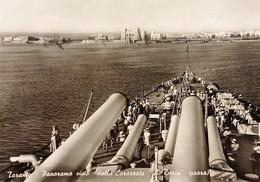 Cartolina - Taranto - Panorama Visto Dalla Corazzata A. Doria - 1956 - Taranto