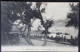 Carte Postale BIARRITZ (64): 72 Un Coin De Plage, Gens (1933) 239 - Biarritz