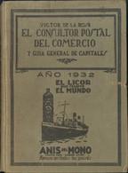1929. EL CONSULTOR POSTAL DEL COMERCIO. Víctor De La Rosa. Madrid, 1929. - Unclassified