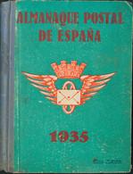 1935. ALMANAQUE POSTAL DE ESPAÑA. 2ª Edición 1935. G.Gómez Alonso. (alguna Pequeña Erosión) - Unclassified