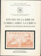 """1970. ESTUDIO DE LA SERIE DE CORREO AEREO """"LA CIERVA"""", EMISION FOURNIER DE BURGOS (1939). José María Gomis Seguí Y Alvar - Unclassified"""