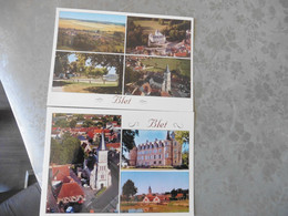 2   CARTES        POSTALES            VIERGES    DE       BLET  (   CHER) - Other Municipalities