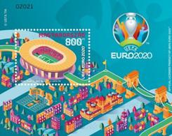 Hungary - 2021 - EURO 2020™ European Football Championship - Mint Souvenir Sheet - Nuevos