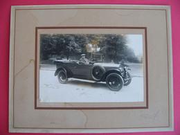 Photo Automobile Marque à Déterminer  Années 30's Bouchon De Radiateur : Taureau - Automobiles