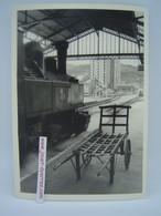 P.O.C Locomotive à Vapeur à Quai En Gare De Tulle - Treni