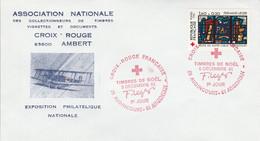 FDC 1981 CROIX ROUGE VITRAUX D'AUDINCOURT DOUBS - 1980-1989