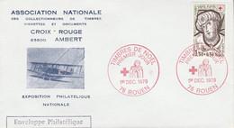 FDC 1979 CROIX ROUGE ROUEN - 1970-1979