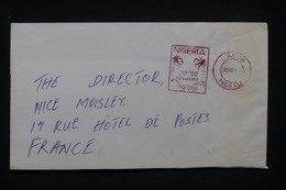 NIGERIA - Enveloppe De Lagos Pour La France, Affranchissement Mécanique - L 99300 - Nigeria (1961-...)